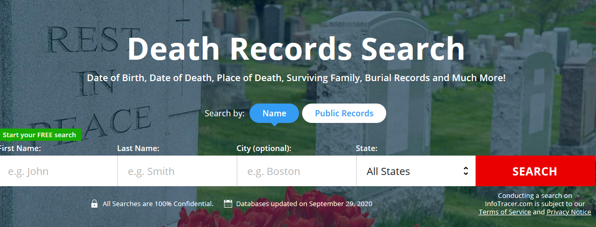 Find Death Records